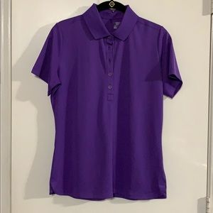 Nike Women's Golf Dri-Fit Polo Shirt-Purple